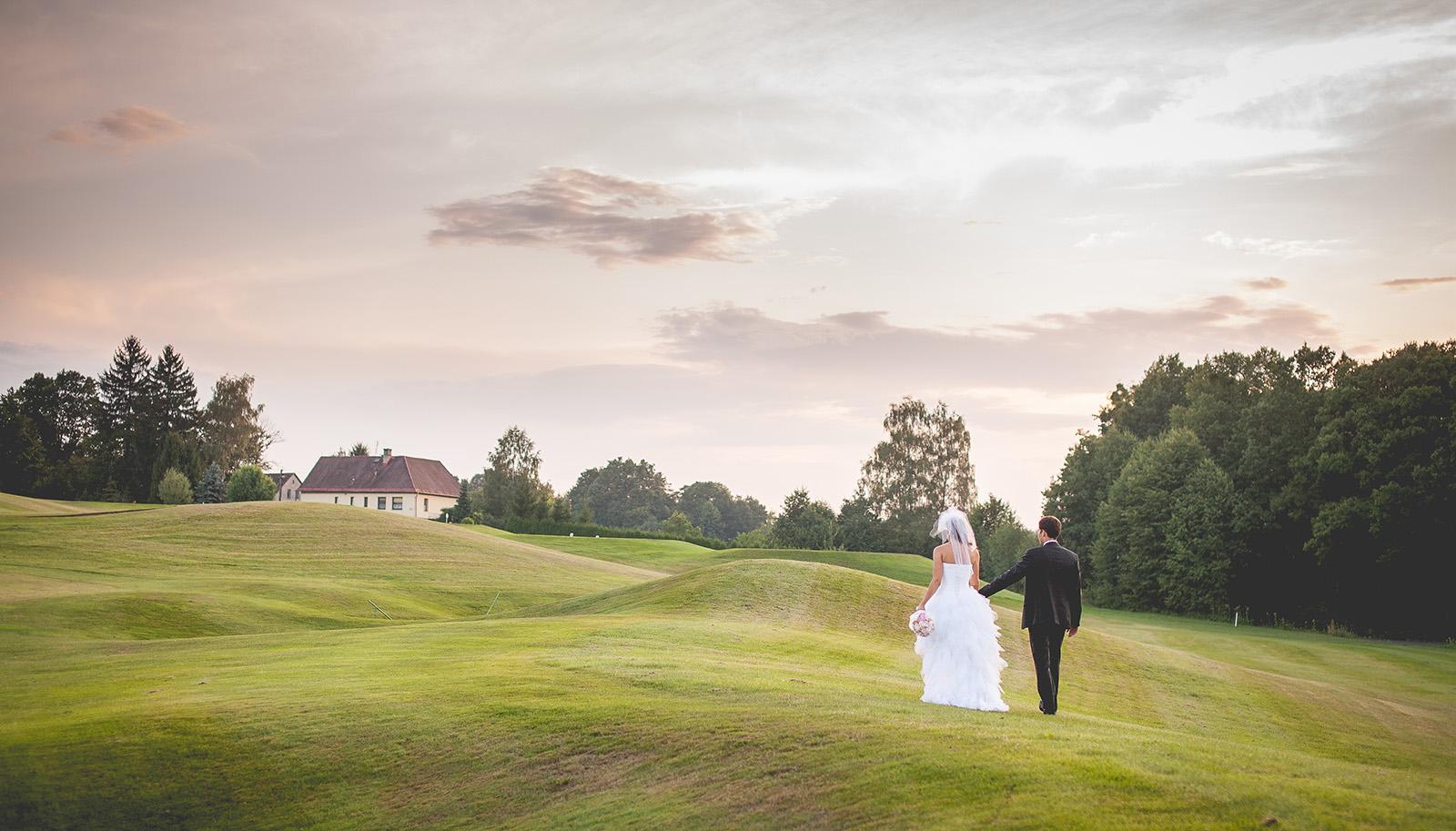 svatba golf