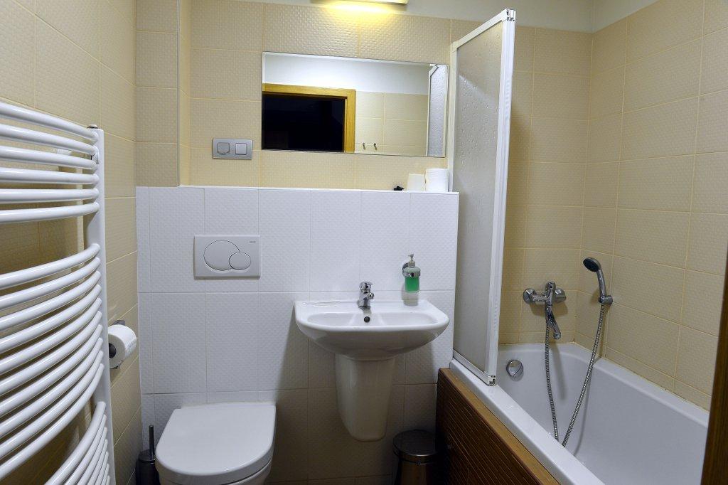 ubytovani penzion mlyn koupelna